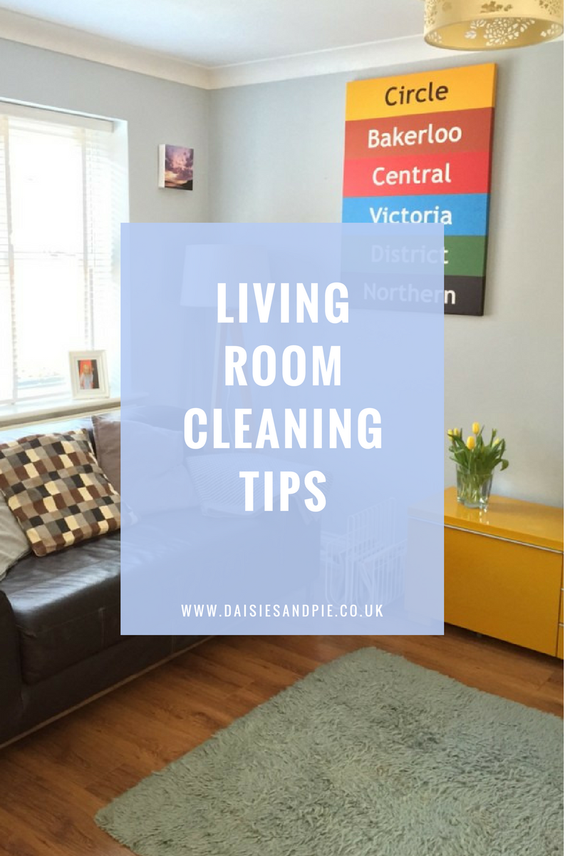 Living room homekeeping daily weekly monthly daisies Cleaning tips for the home uk