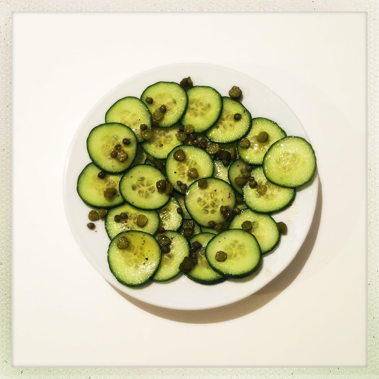 Simple cucumber salad