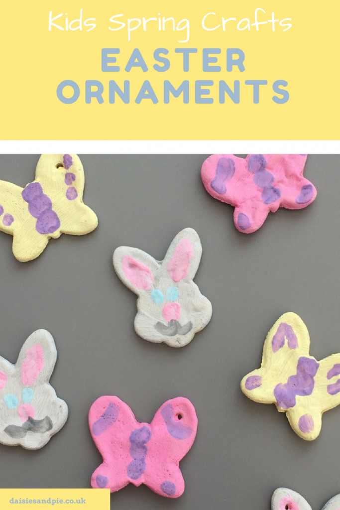 Easy Easter ornaments for kids to make | spring crafts for kids