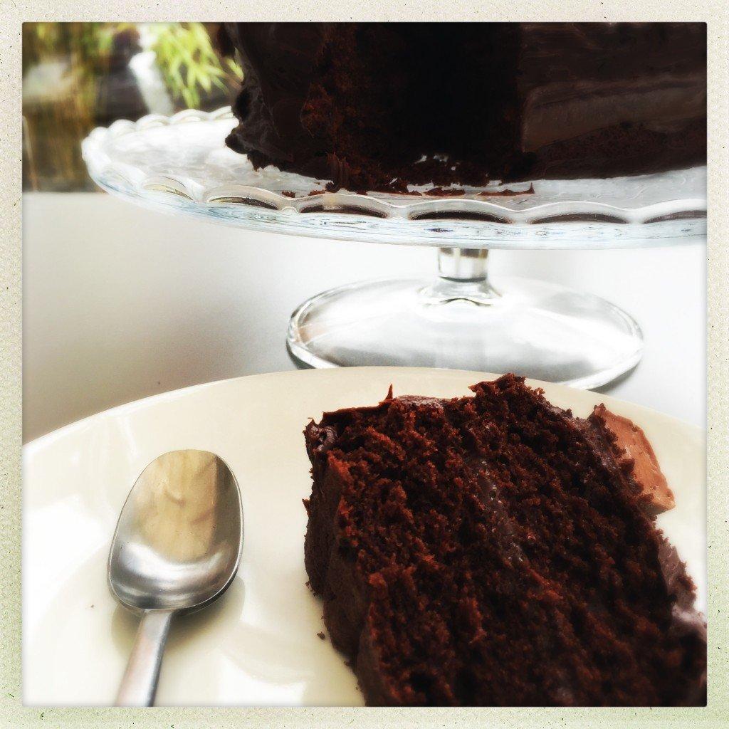 cheat's chocolate cake recipe, easy chocolate cake ideas, rustic chocolate cake, easy family food from daisies and pie