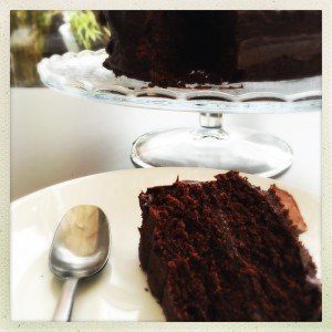 cheat's chocolate cake recipe, easy chocolate cake ideas, rustic chocolate cake, easy family food from daisies and pie