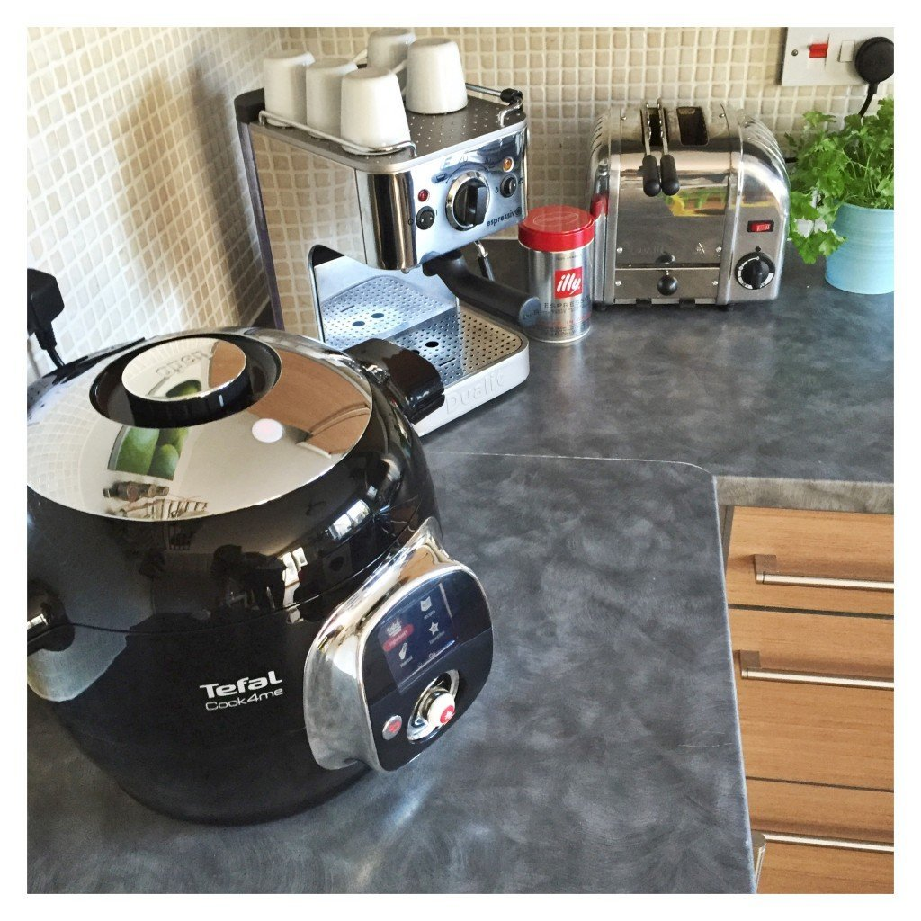 tefal cook4me review, easy family food from daisies and pie