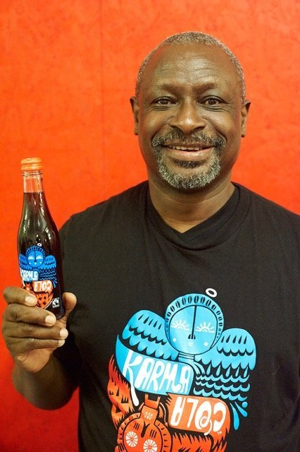 albert tucker, karma cola foundation, karma cola, cola nuts, organic fizzy drinks, fairtrade fizzy drinks