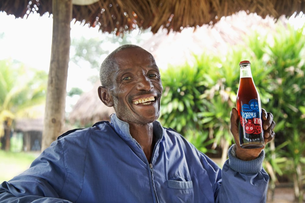 Chief Hindowa, The Karma Cola Foundation, Organic Fairtrade Fizzy Drinks