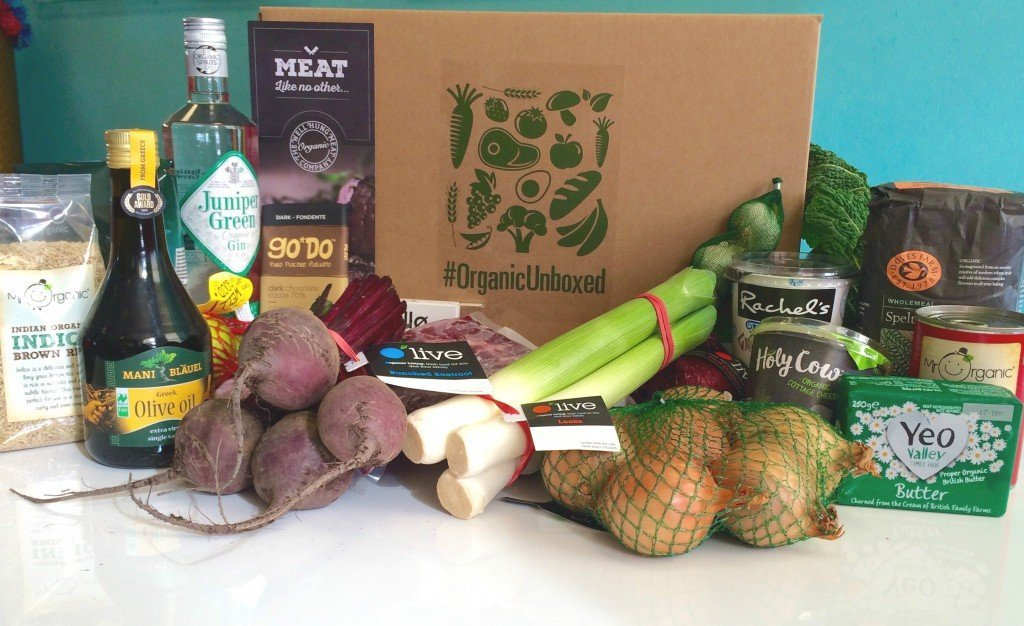 organic unboxed april 2016, organic cooking challenge, organic recipes, organic food, easy family food from daisies and pie