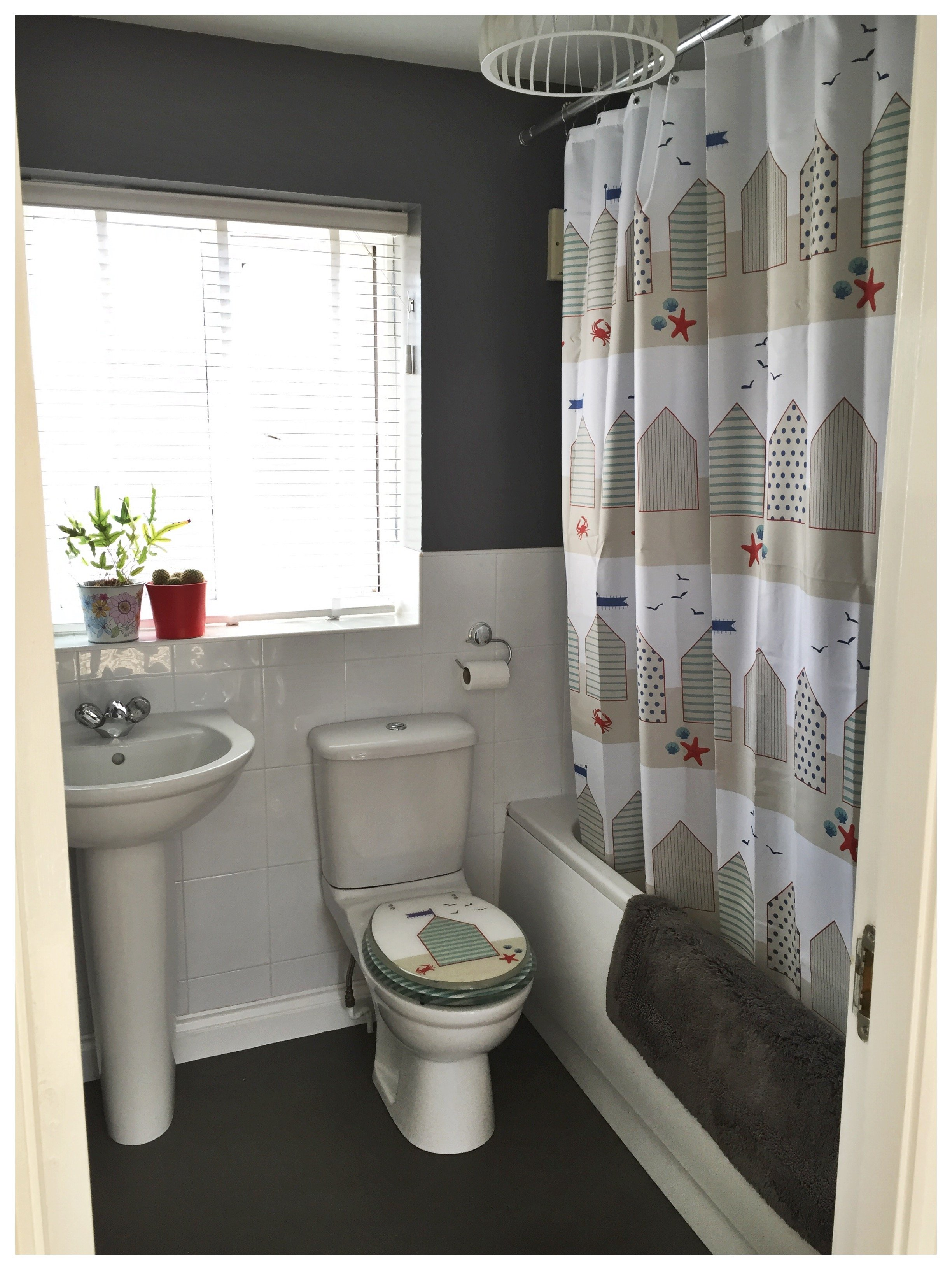 budget bathroom makeover after pictures , bathroom makeover for £250, how to update bathroom cheaply, easy bathroom makeover, homestyle from daisies and pie