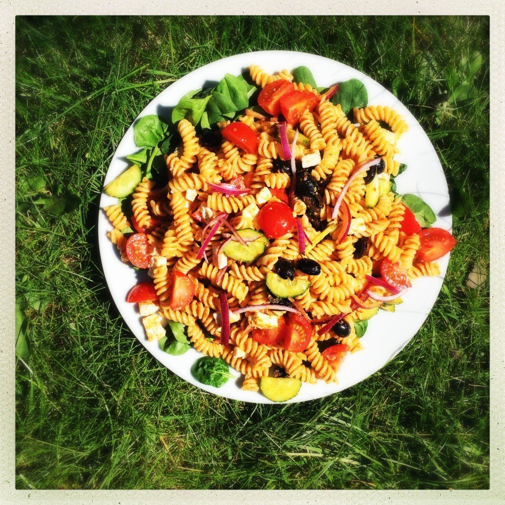 Greek pasta salad