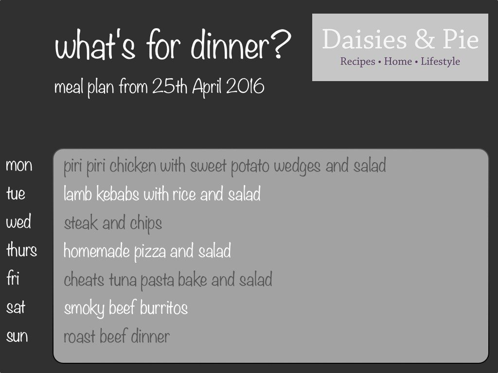 family dinner plan, family meal plan, meal planning, meal plan ideas for family, kids dinner ideas, easy family food from daisies and pie