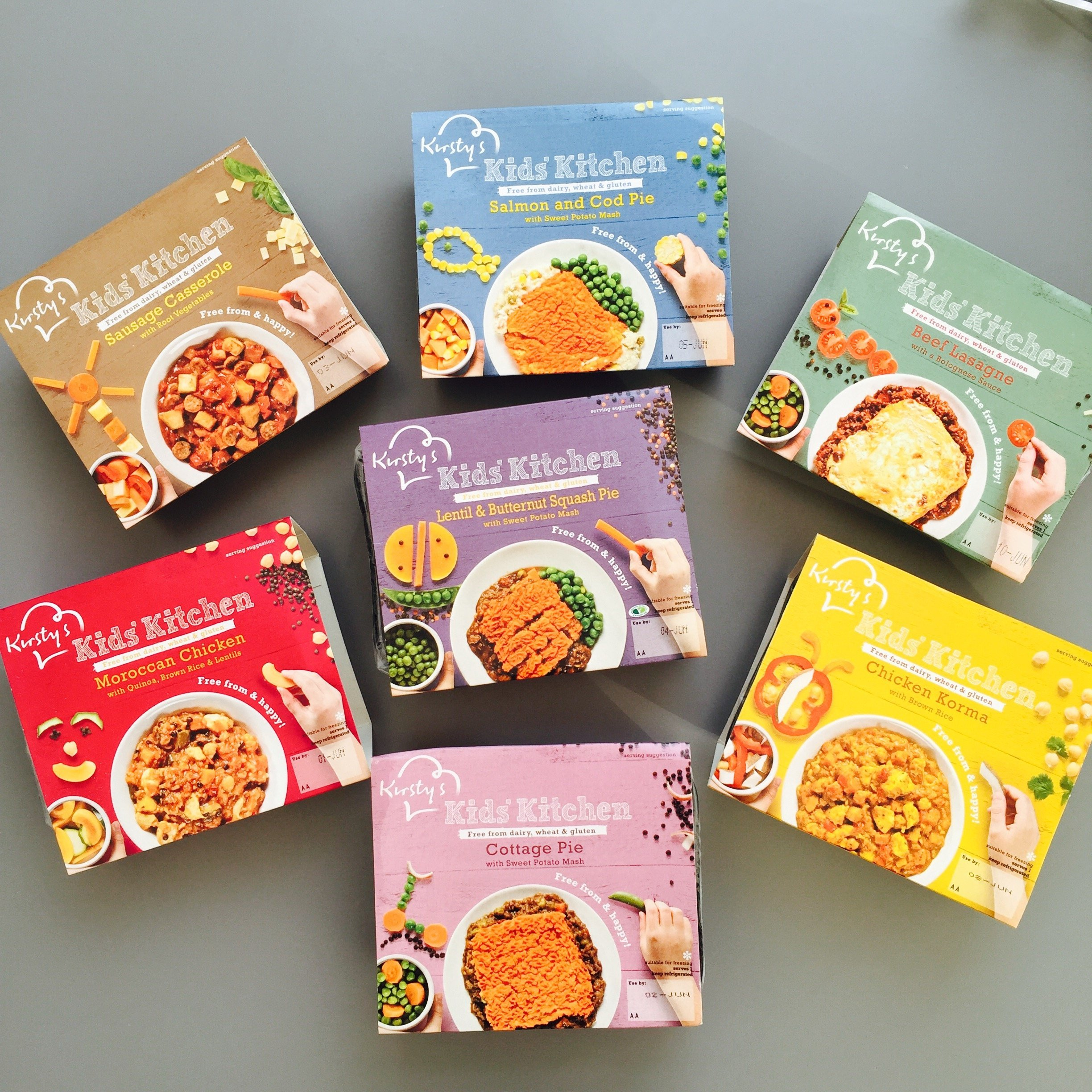 kirsty's kids' kitchen ready meals, free from ready meal s for kids, review of free from kids meals, kirsty's kids meals reviews, easy family food from daisies and pie