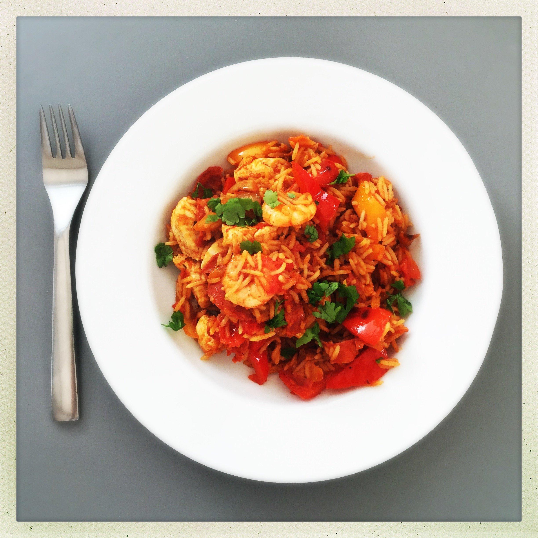 Really easy Spanish rice