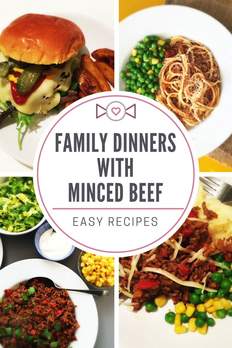 Five family meals to make with minced beef daisies pie for What to make with hamburger meat for dinner