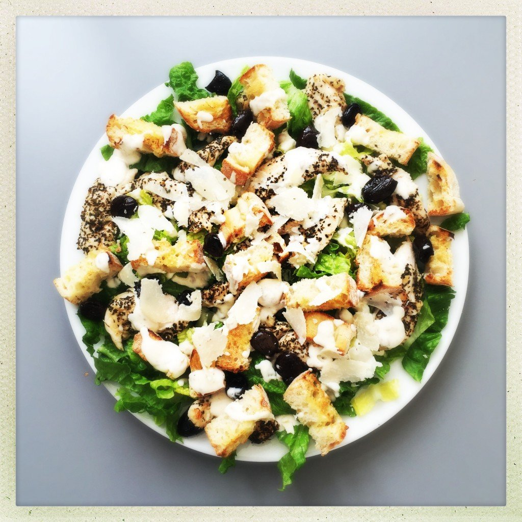 Crunchy Green Salad with Croutons Recipe Crunchy Green Salad with Croutons Recipe new foto
