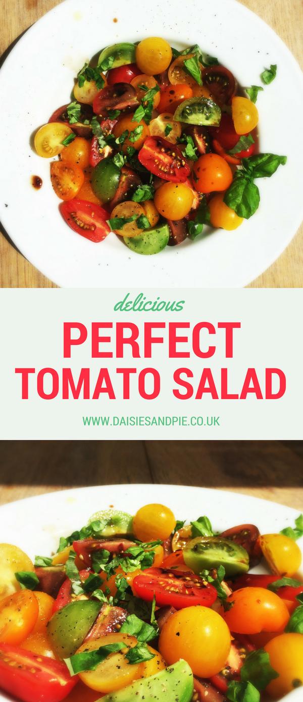 Perfect tomato salad recipe, Italian salad recipes, side dish