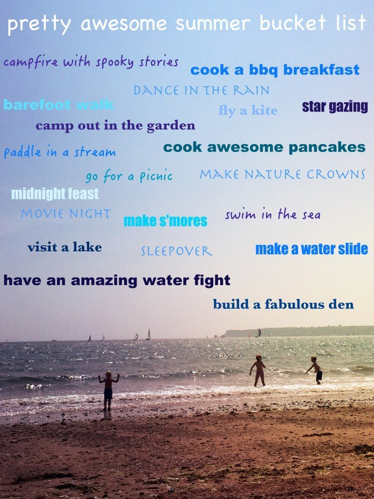 summer bucket list 2016, kids summer bucket list, bucket list for kids, summer activities for kids, kids activities