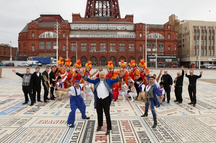 25 years of Blackpool Tower Circus with Mooky, blackpool tower circus review, blackpool tower
