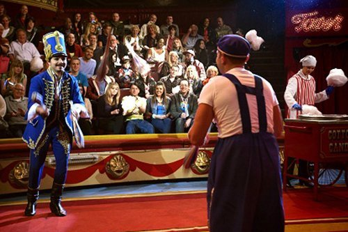 Blackpool Tower Circus clowns Mooky and Mr Boo, blackpool tower circus review