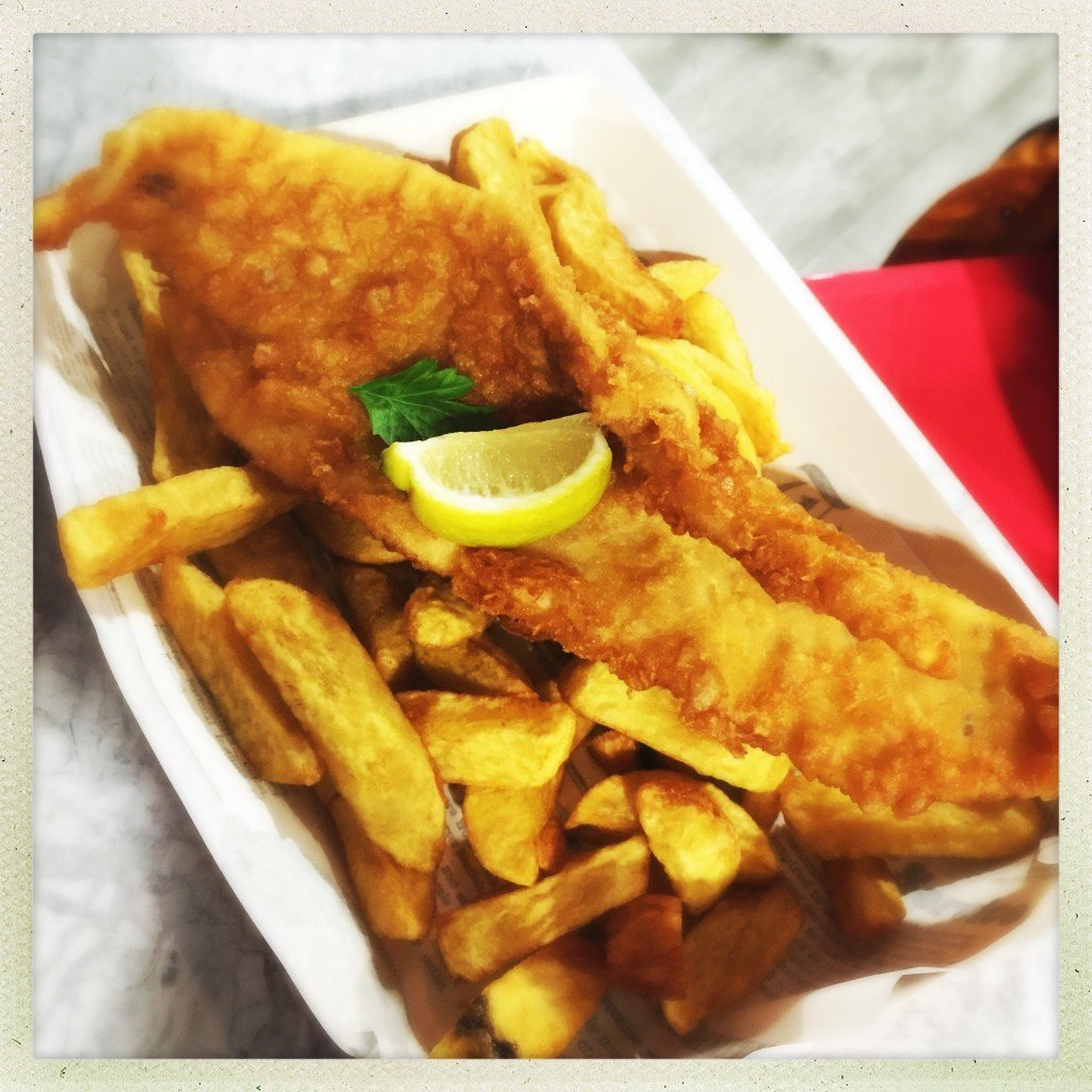 harry rams den's fish and chips blackpool tower, best place for fish and chips in blackpool, places to eat with kids blackpool,