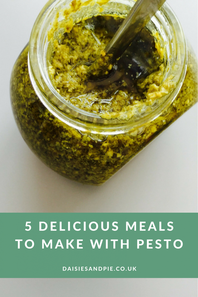 Five quick and easy meals to make with pesto, quick midweek dinner recipes,