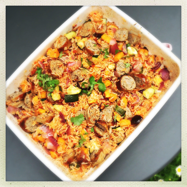 how to cook slovenian rice sausage