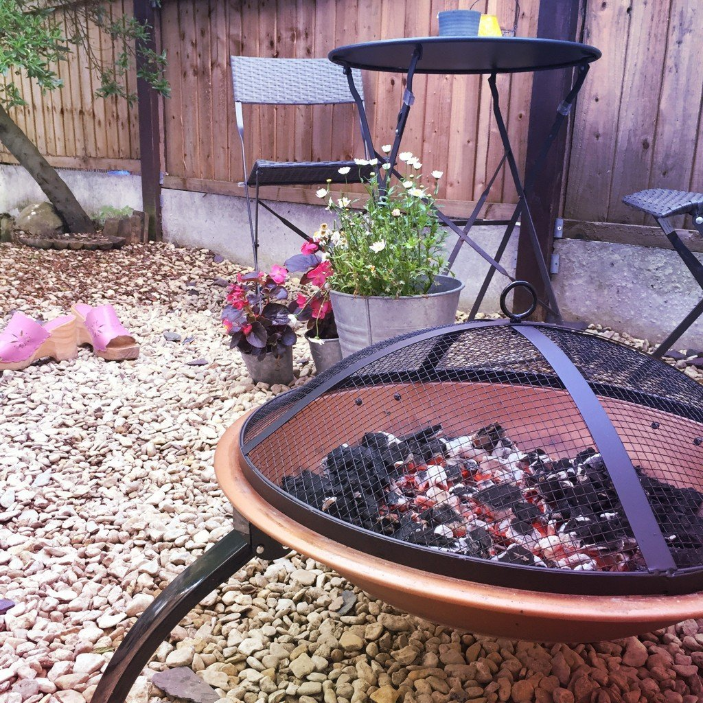 vonhaus copper fire pit review