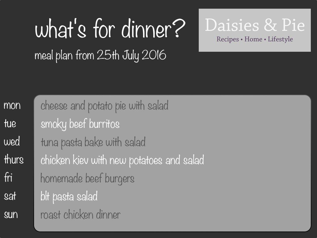 family meal plan, meal planning, meal plan ideas, family recipes, easy family food from daisies and pie