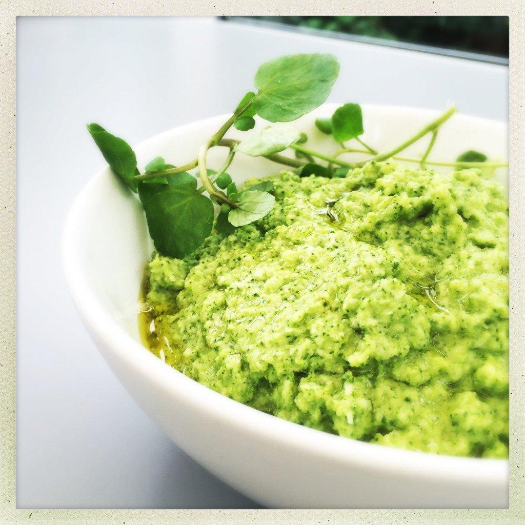 broccoli pesto recipe, homemade pesto, nut free pesto recipe, easy family food from daisies and pie