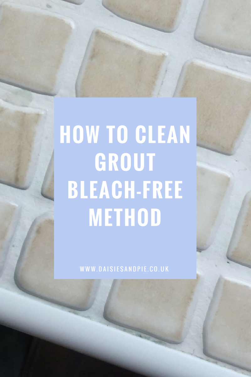 How to clean grout with using bleach, cleaning hacks for the bathroom