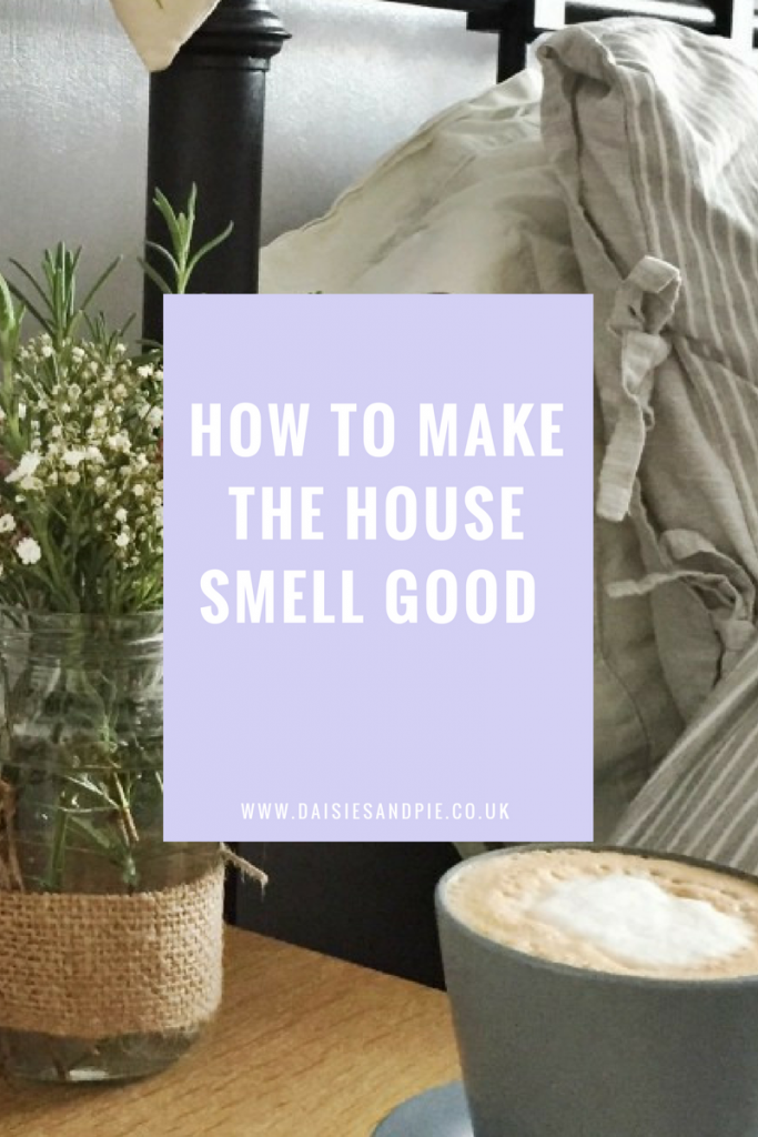 How to make the house smell good, easy ways to get your home smelling lovely, homemaking tips