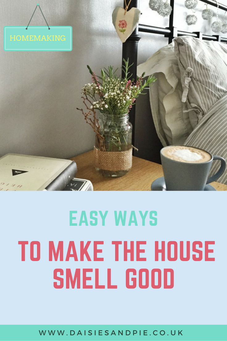 how to make your house smell good daisies pie