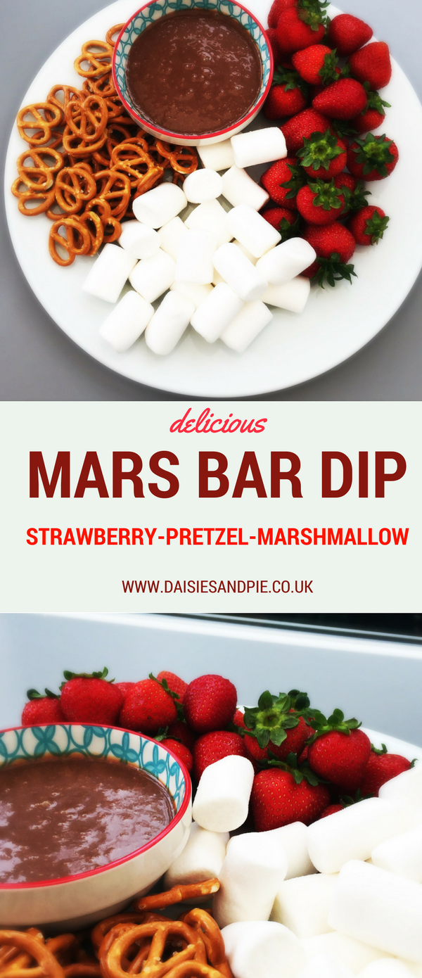 Mars Bar Dip recipe, delicious chocolate dip recipe, sleepover recipes,