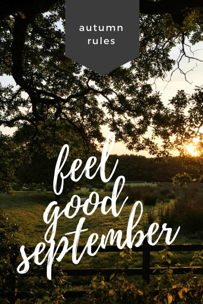 How to have a feel good September, ways to feel good, family activities for autumn