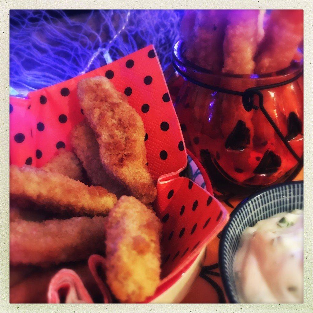 iceland chicken goujons, frozen party food, frozen halloween party food ideas, easy halloween party food ideas