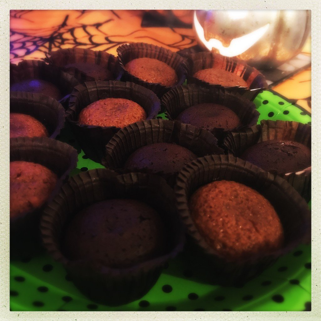 iceland melt in the middle puddings, easy halloween party food, easy halloween puddings