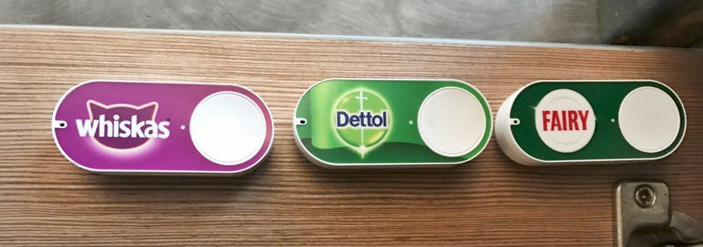 amazon dash button review, IoT, internet shopping, homemaking, home organisation