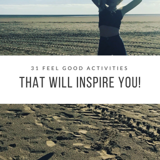 Got January blues? Here's 31 feel good activities that will inspire you!