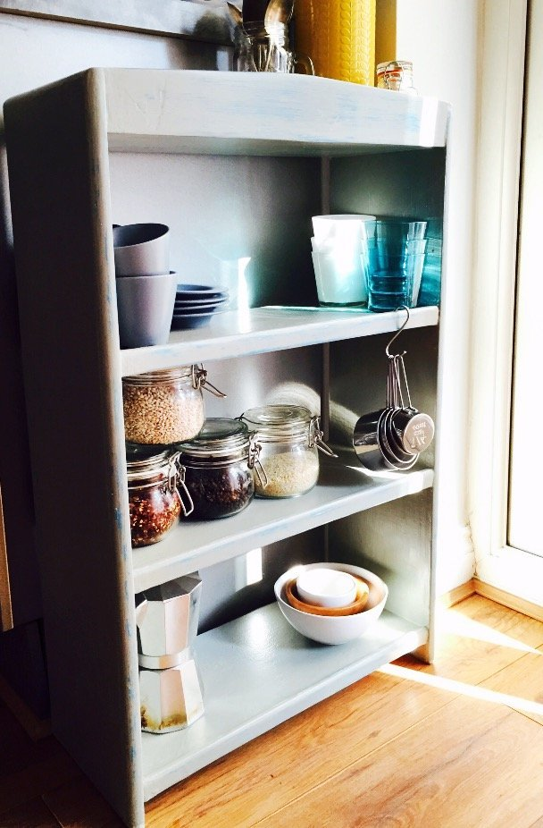 Four steps to organise kitchen cupboards