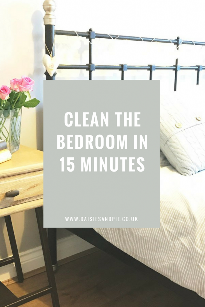 How to clean your bedroom in 15 minutes