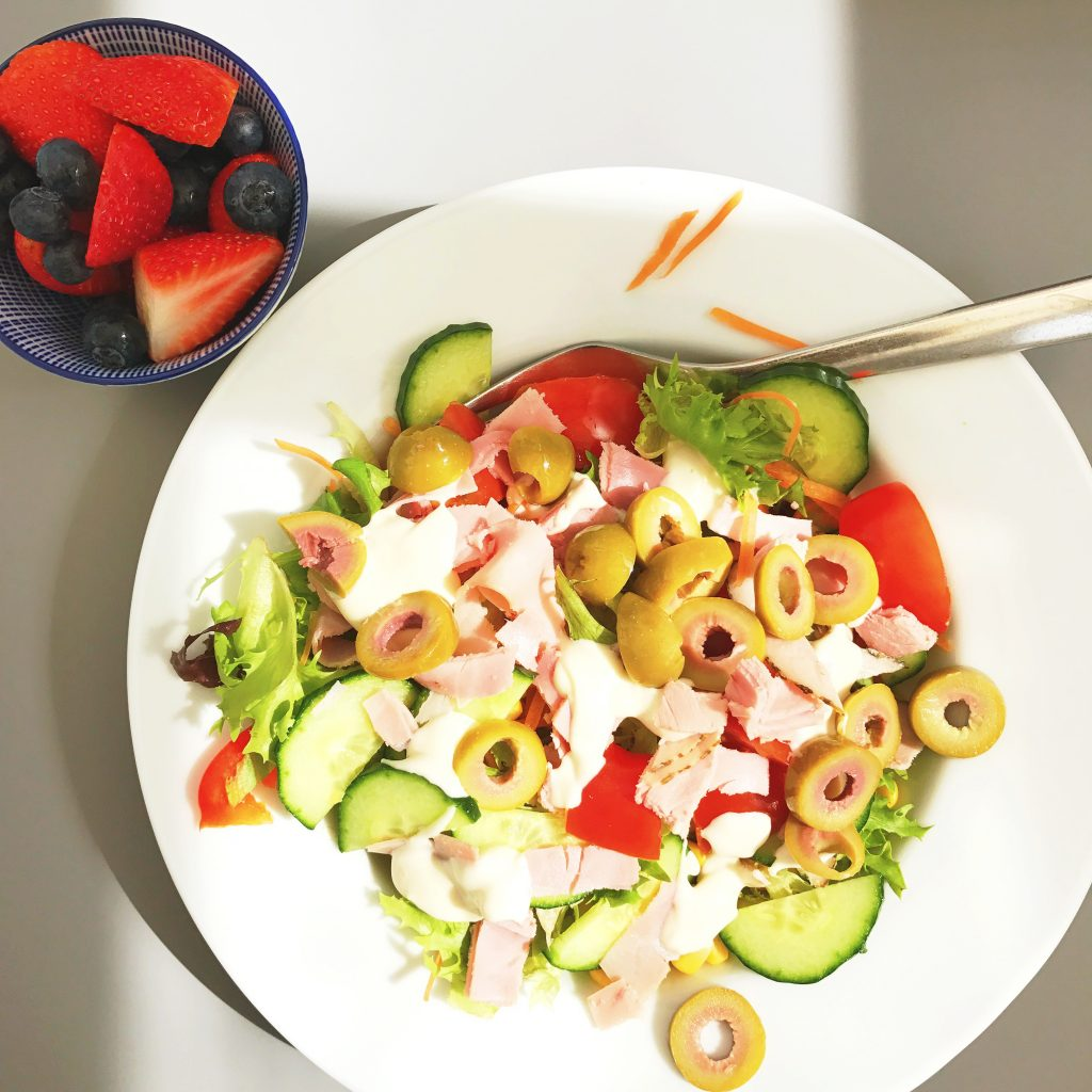 quick ham salad, quick meal ideas with ham, easy family food