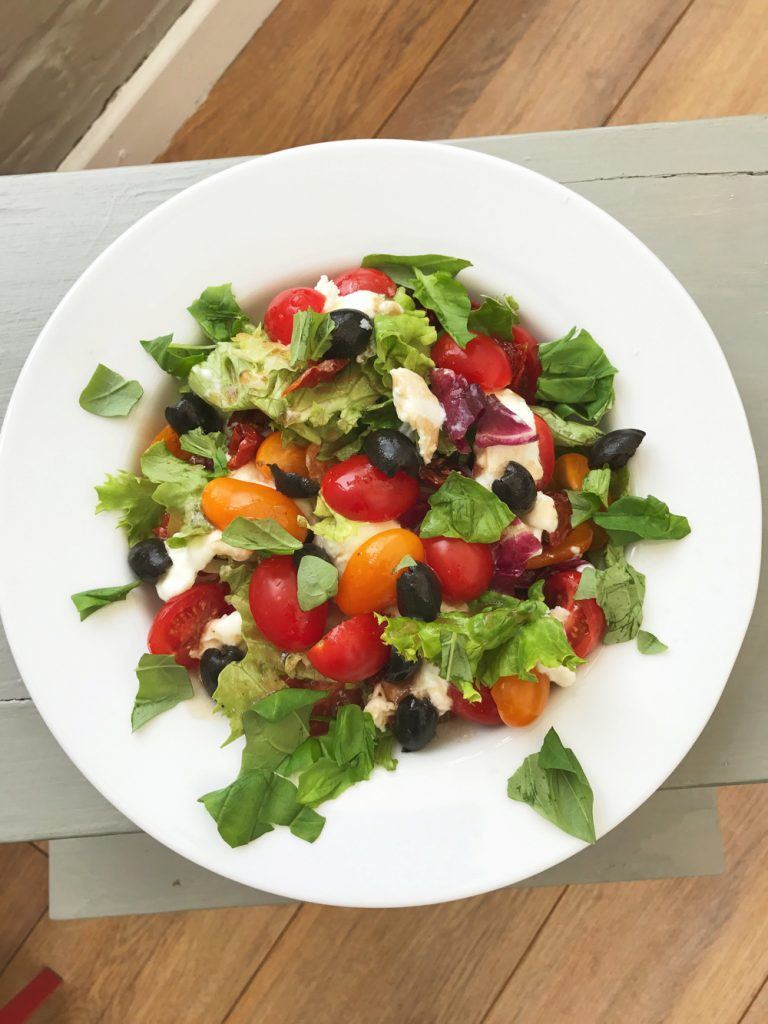 Rustic Caprese Salad, Italian Salad recipes, easy family food