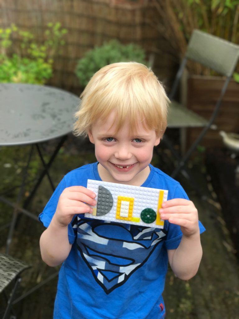 Make a LEGO Father's Day Card