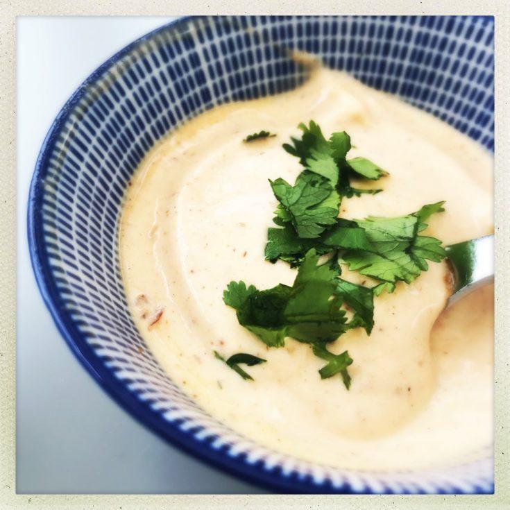 Harissa Mayonnaise Dip Recipe, spicy dip recipe, harissa dip recipe, party dip recipes