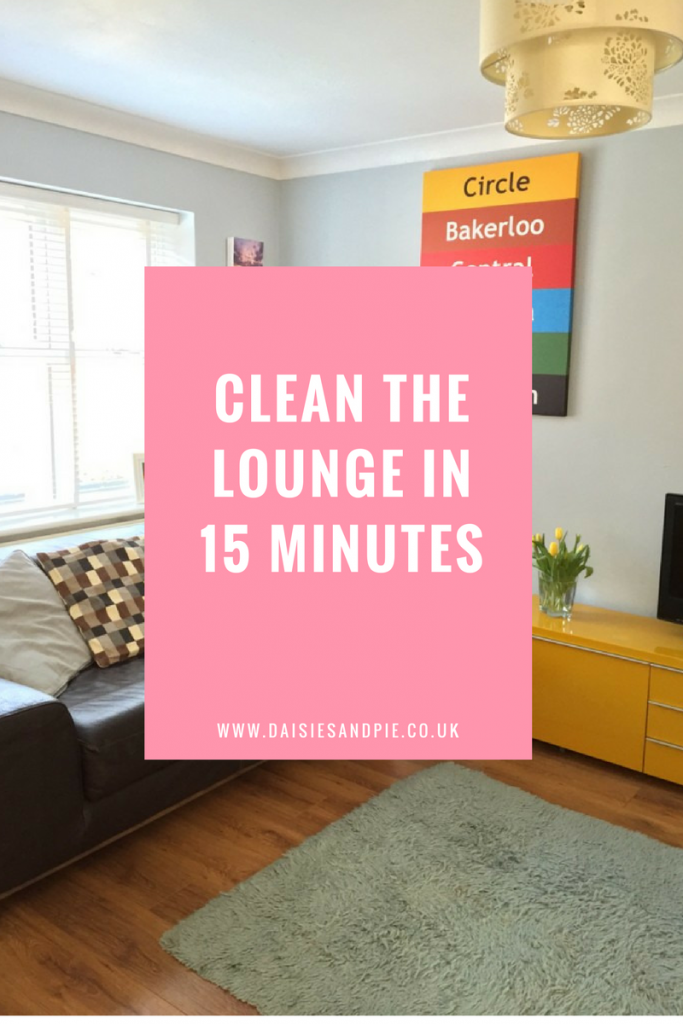How to clean the lounge in 15 minutes