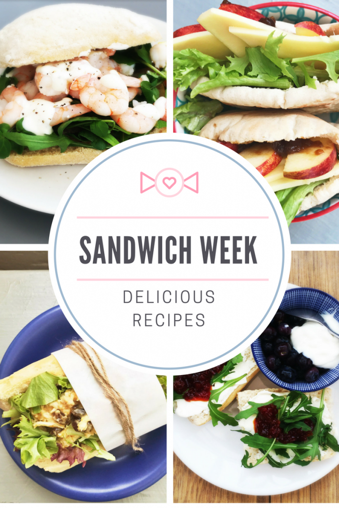 British Sandwich Week, easy sandwiches, sandwich recipes