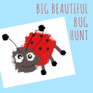Garden bug hunt printable for kids, summer fun