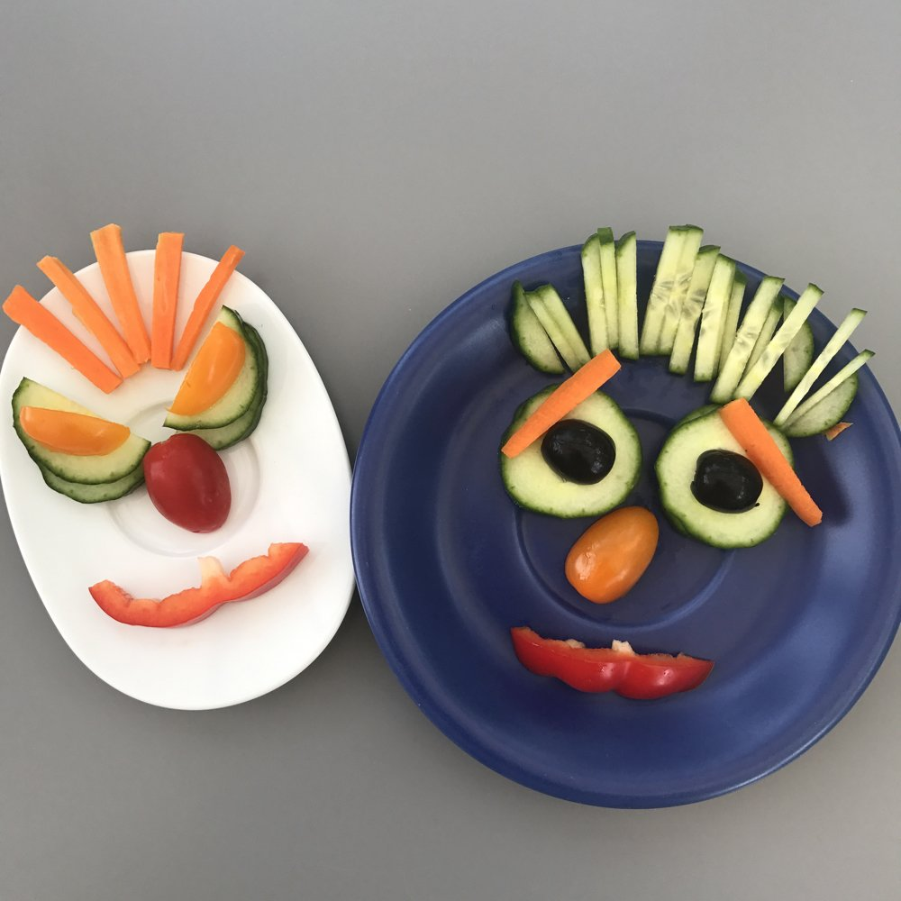 Monster Side Salad for Kids