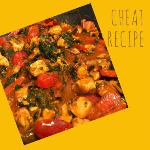 Chicken Balti cheat recipe, easy curry recipe, easy family dinner