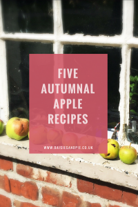 Autumn apple recipes, five delicious apple recipes perfect for celebrating autumn with