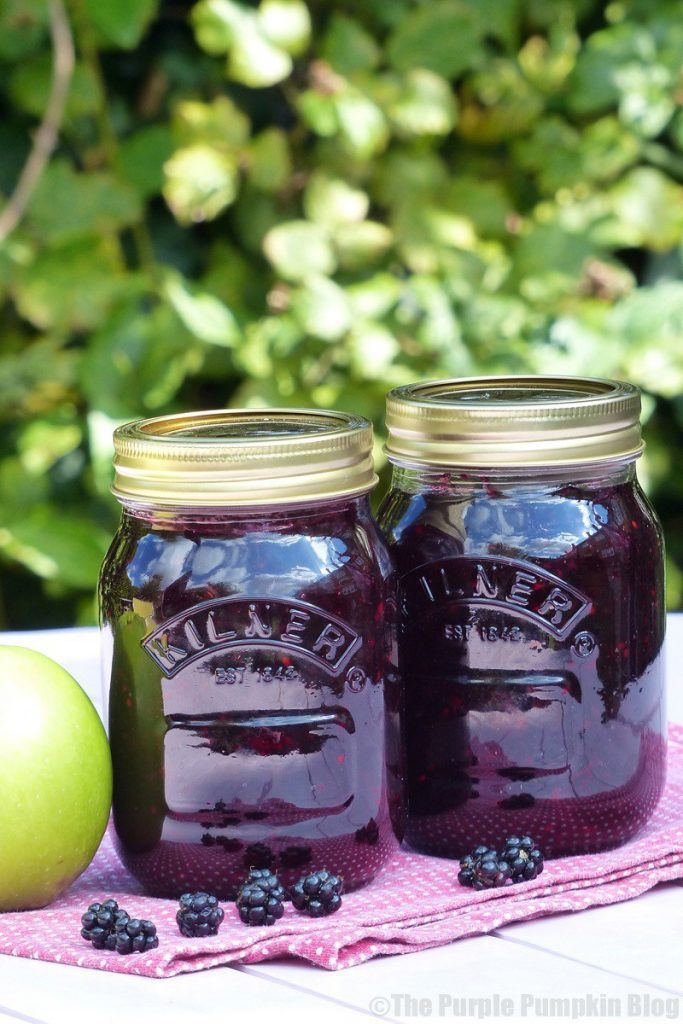Blackberry and Apple Jam recipe, delicious autumn recipes, how to make jam
