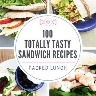 100 sandwich filler recipes