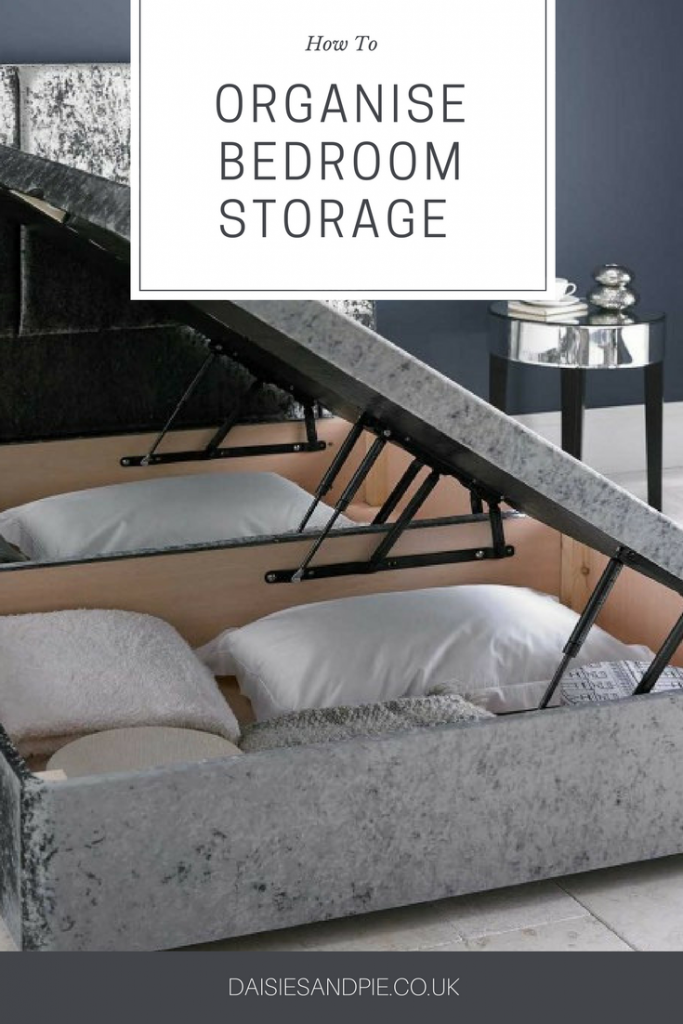 How to organise bedroom storage like a boss, utilise every bit of space in your bedroom and create a calm clutter free oasis, homemaking tips